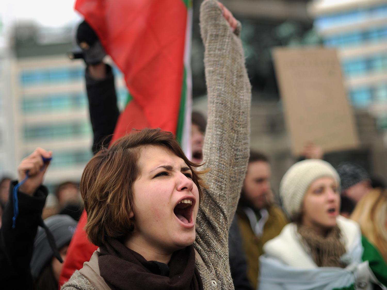 Bulgaria-shale-protest