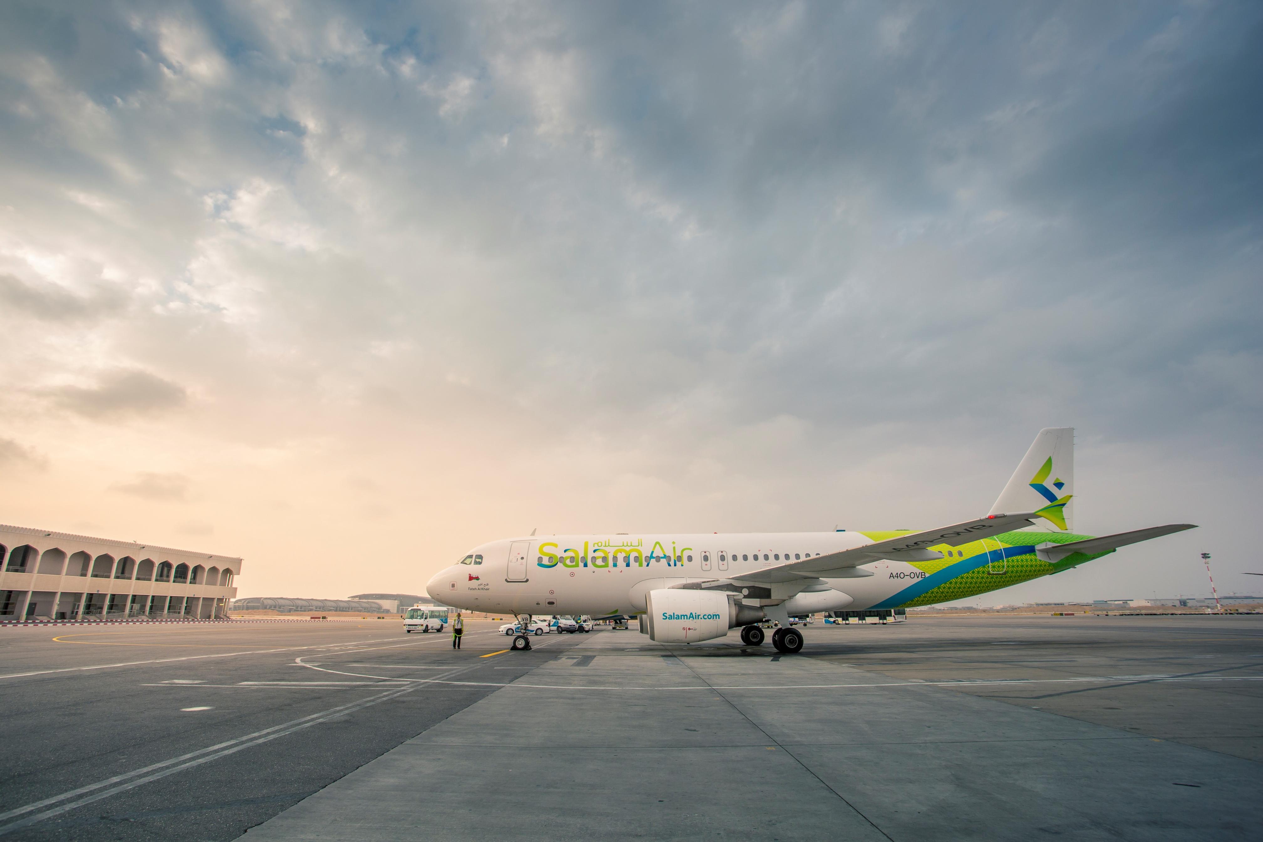 SalamAir aircraft photo