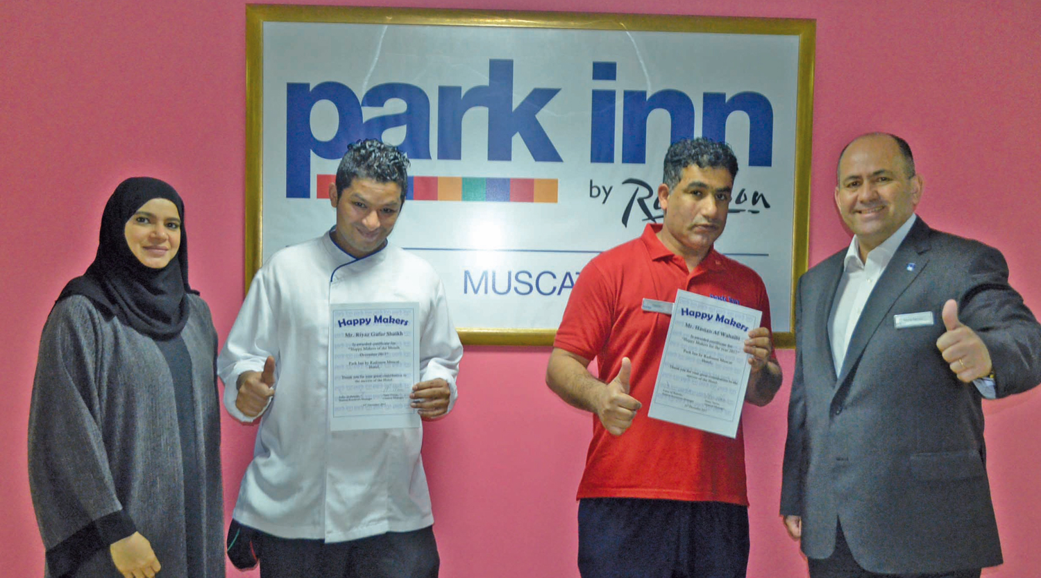 Two-Omanis-won-the-employees-of-the-year-award-at-Park-Inn-Muscat