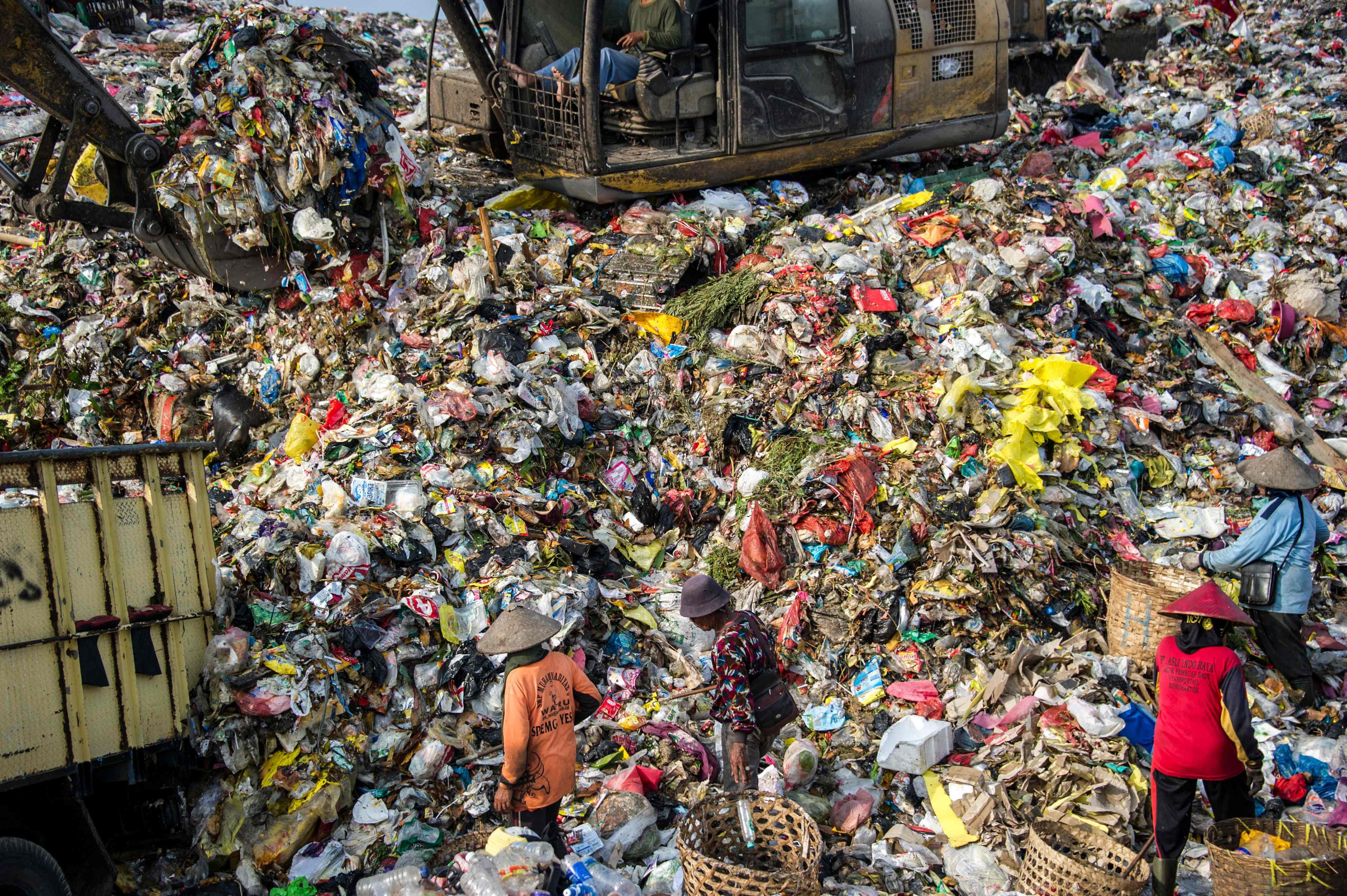INDONESIA-ENVIRONMENT-PLASTIC