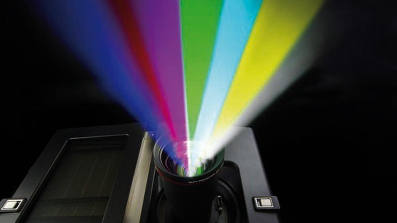Laser-projector