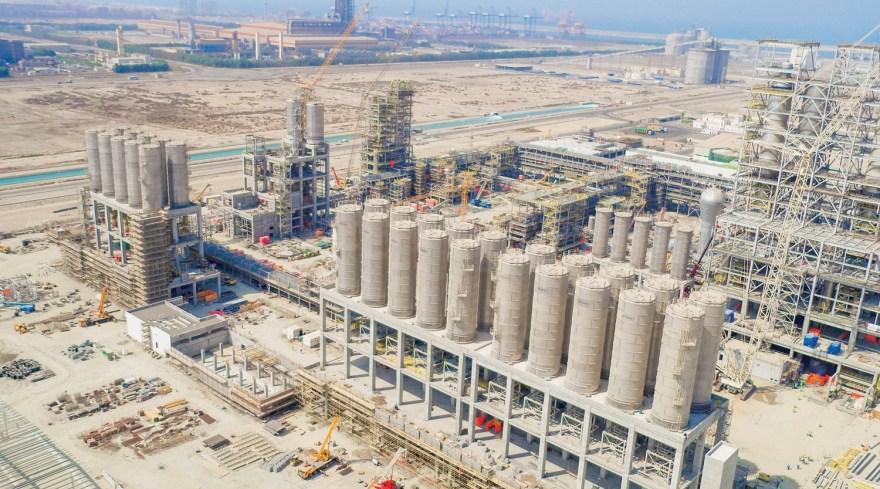 Liwa Plastics Industries Complex Project
