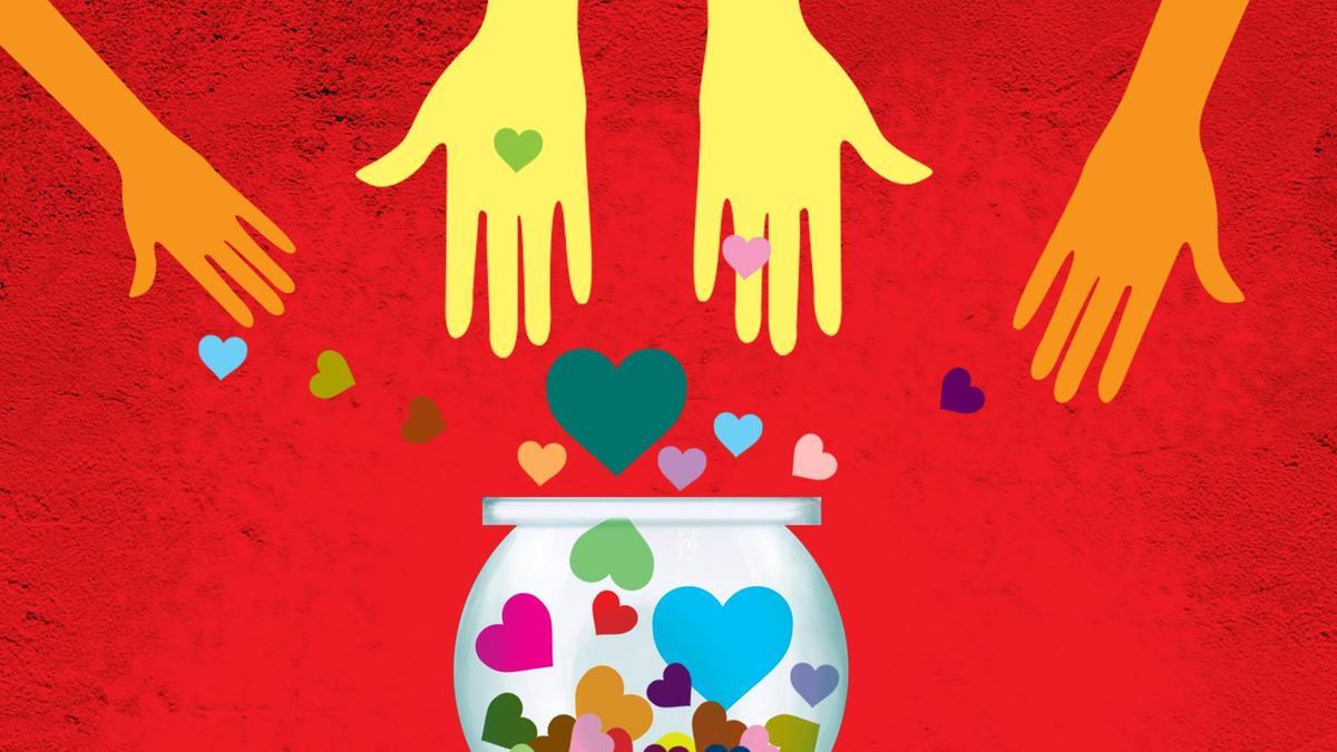 Coronavirus charity illustration