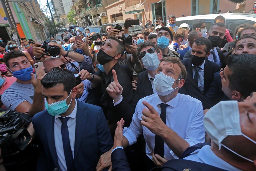 LEBANON-FRANCE-BLAST