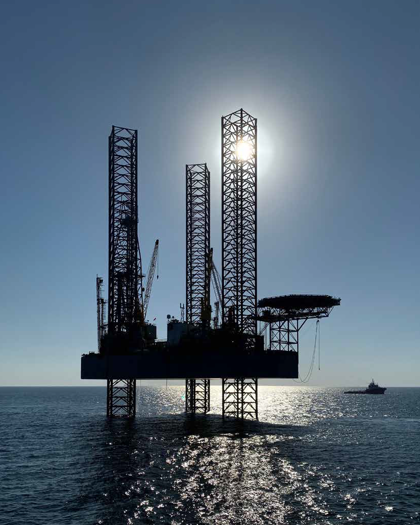 Masirah Oil - Yumna-1 well jack-up rig