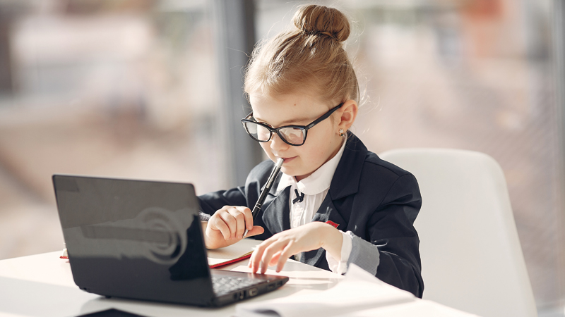 child-office-with-laptop